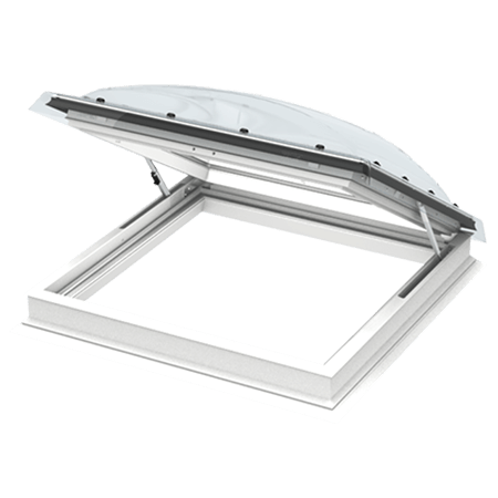 Access flat roof windows type