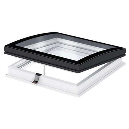 Velux flat roof windows with opening possibility